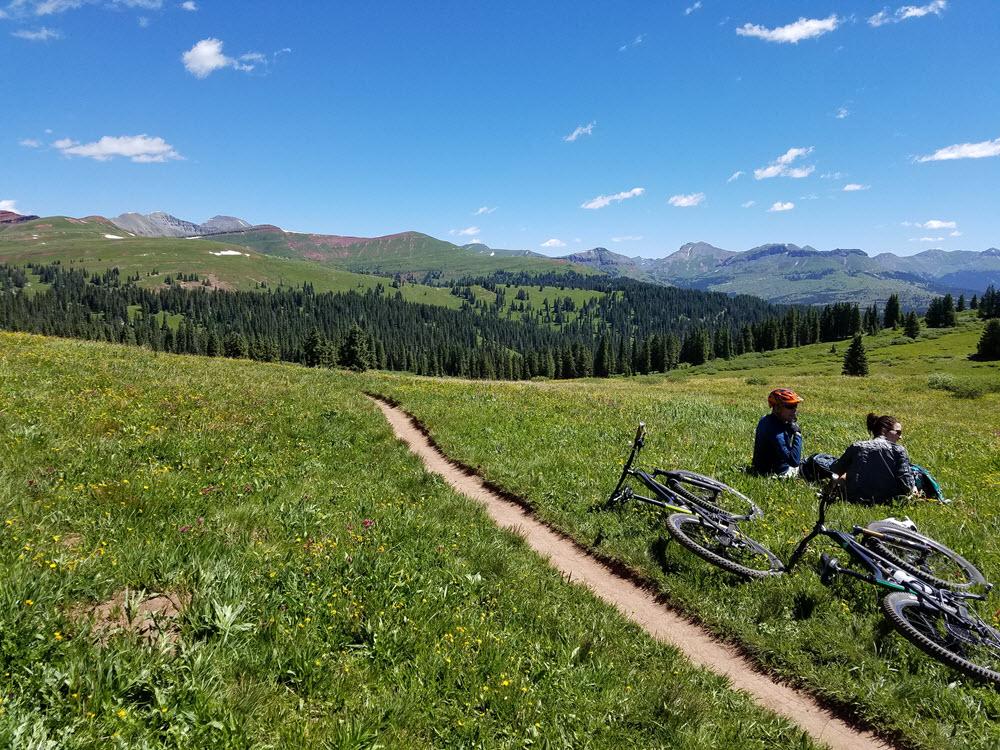 Where I Ride Durango Colorado by Michael Hicks