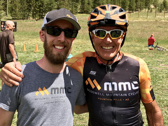 Brian Sullivan and Harry Johnson of McDowell Mountain Cycles